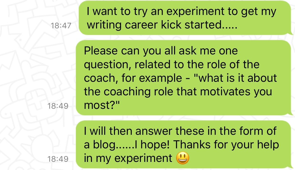 Coaching Questions Filled With Curiosity Part I Novatec