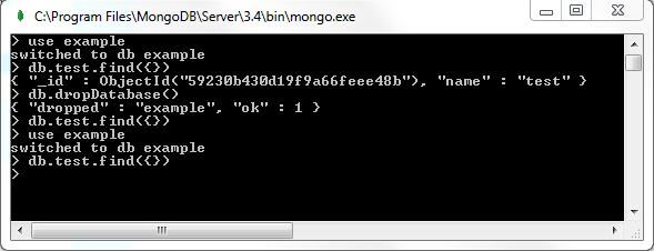 MongoDB Shell I/O