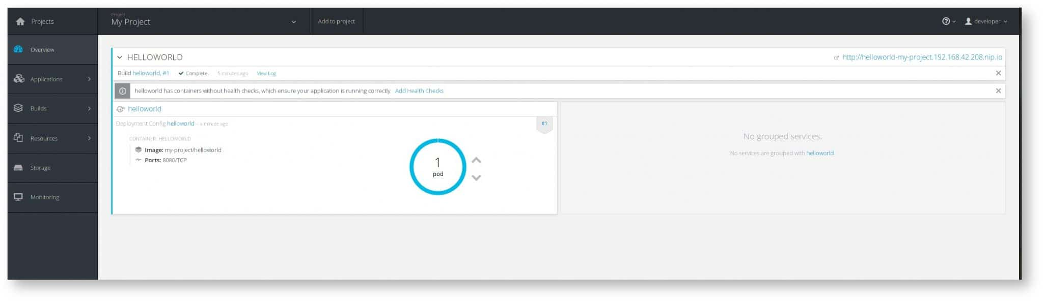 Getting Started: MiniShift - An OpenShift Origin All-in-One VM | Novatec