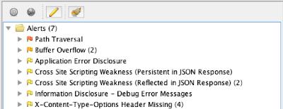 OWASP Zap Alerts