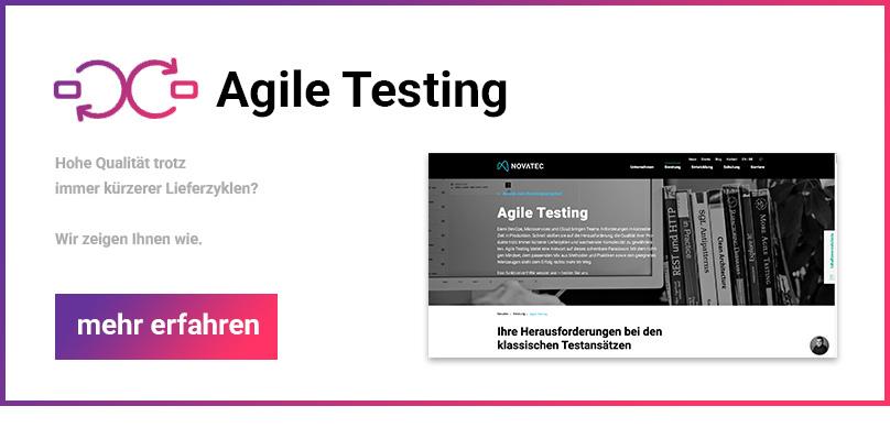Agile Testing Banner